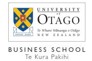 University of Otago Business School